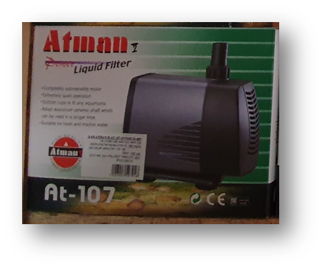 ראש כח לאקווריום אטמן כבל 4.8 מ' דגם: AT-107