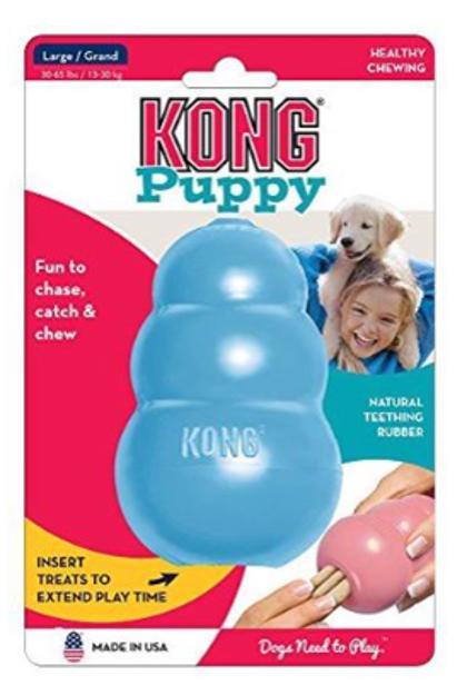 צעצוע אילוף קונג לכלב דגם פאפי מידה L