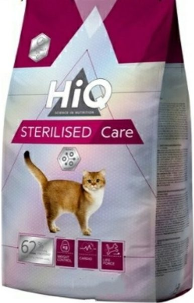 "HIQ מזון משובח לחתולים מעוקרים/מסורסים סרלייזד 1.8 ק""ג"