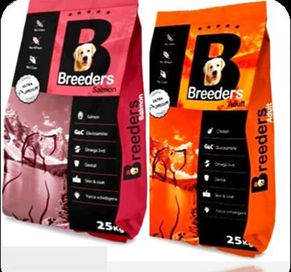 """ברידרס - מזון יבש סופר פרימיום לכלב בוגר 15 ק""""ג"""