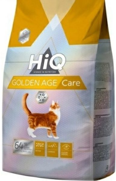 "HIQ מזון משובח לחתולים מבוגרים סניור  6.5 ק""ג"