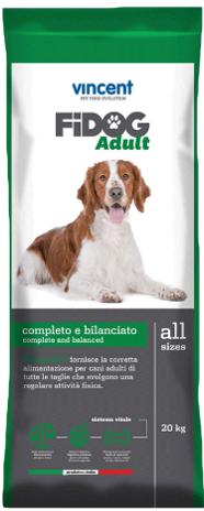 וינסנט פידוג אדולט - מזון משובח לכלב בוגר