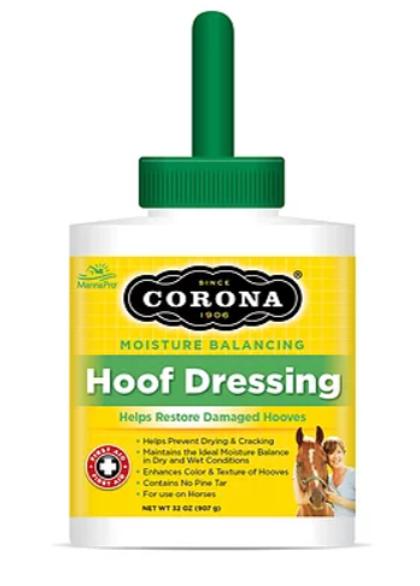 קורונה - HOOF DRSSING, שמן לפרסות 907 מל'