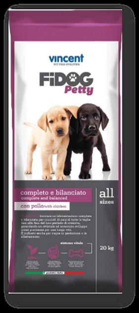 """וינסנט פידוג פטי - מזון יבש מועשר פרימיום לגור הכלב 20 ק""""ג"""