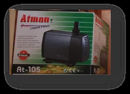 ראש כח לאקווריום אטמן כבל 4.8 מ' דגם: AT-105
