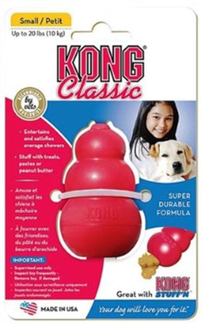 צעצוע אילוף קונג לכלב דגם קלאסיק מידה M