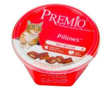 פרמיו חטיף לחתול עור ופרווה 60 ג'