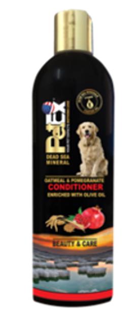 פט אקס קונדישינר- מרכך שיער מועשר במינרלי ים המלח בתוספת שמן זית 400 מל'