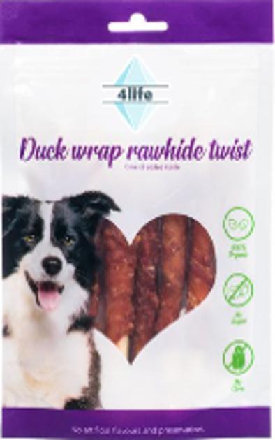 פור לייף  חטיף לכלב ללא סוכר רצועות חזה ברווז מובחרות 70 גרם