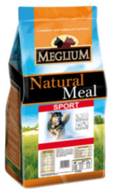"""מגליום ספורט - מזון יבש לכלב פעיל 15 ק""""ג"""